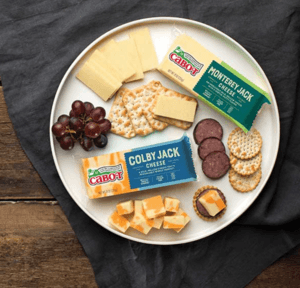 Vermont cheese and crackers