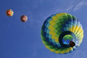 reserve Vermont hot air balloon ride