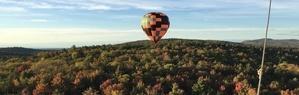 best Vermont sightseeing tour by balloon ride Burlington VT