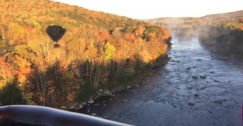 vt river and leaf peeping tours by air